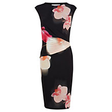 Buy Coast Orchid Print Jersey Dress, Multi Online at johnlewis.com