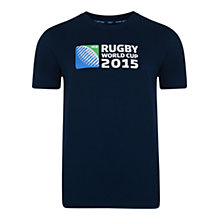 Buy Canterbury of New Zealand Rugby World Cup Boys' T-Shirt, Navy Online at johnlewis.com