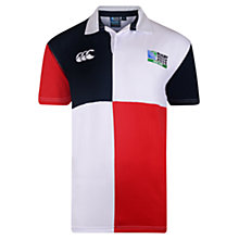 Buy Canterbury of New Zealand Rugby World Cup Harlequin Boys' Rugby Shirt, Red/Blue/White Online at johnlewis.com