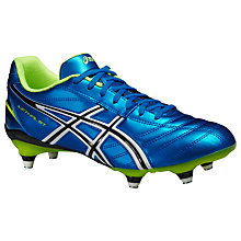 Buy Asics Lethal ST Men's Football Boots, Electric Blue/Flash Yellow Online at johnlewis.com