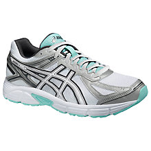Buy Asics Patriot 7 Women's Cushioning Running Shoes, White/Ice Online at johnlewis.com