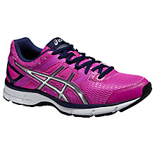 Buy Asics Gel-Galaxy 8 Women's Running Shoes, Pink/Silver Online at johnlewis.com