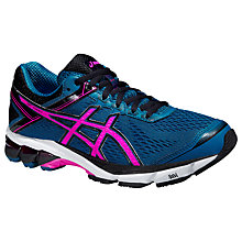 Buy Asics GT-1000 4 Women's Running Shoes, Mosaic Blue/Pink Glow Online at johnlewis.com