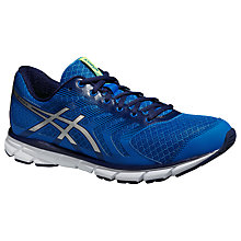 Buy Asics Gel-Xalion 3 Men's Natural Running Shoes, Electric Blue/Silver Online at johnlewis.com