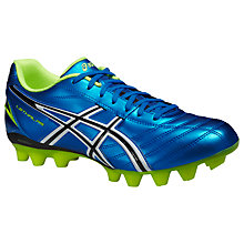Buy Asics Lethal RS Men's Football Boots, Electric Blue/Flash Yellow Online at johnlewis.com
