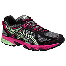 Buy Asics Gel-Sonoma Women's Running Shoes, Black/Pistachio Online at johnlewis.com