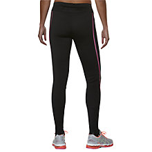 Buy Asics Lite Show Winter Running Tights, Performance Black/Pink Glow Online at johnlewis.com