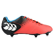 Buy Canterbury of New Zealand Control Club 6 Stud Rugby Boots, Red/Black Online at johnlewis.com