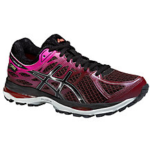 Buy Asics GEL-CUMULUS 17 G-TX Women's Cushioning Running Shoes, Burgundy Online at johnlewis.com