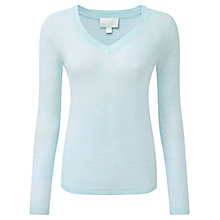 Buy Pure Collection Featherweight Cashmere Seam Detail Sweater Online at johnlewis.com