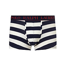 Buy Polo Ralph Lauren Stripe Trunks, Blue/White Online at johnlewis.com