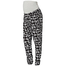 Buy Mamalicious Graffiti Jersey Maternity Trousers Online at johnlewis.com