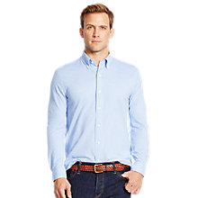 Buy Polo Ralph Lauren Oxford Pique Shirt, Harbour Island Blue Online at johnlewis.com