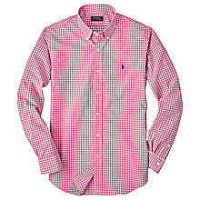 Buy Polo Ralph Lauren Slim Pin Point Collar Shirt Online at johnlewis.com