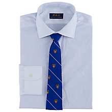 Buy Polo Ralph Lauren Pin Point Cotton Regular Fit Shirt, White Online at johnlewis.com