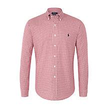 Buy Polo Ralph Lauren Slim-Fit Stretch Oxford Shirt Online at johnlewis.com