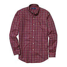 Buy Polo Ralph Lauren Button Down Oxford Shirt, Red/Green Online at johnlewis.com