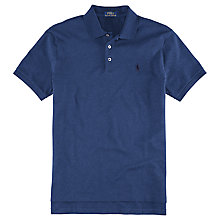 Buy Polo Ralph Lauren Slim Fit Polo Shirt, French Navy Online at johnlewis.com