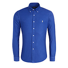 Buy Polo Ralph Lauren Long Sleeve Cotton Oxford Shirt Online at johnlewis.com