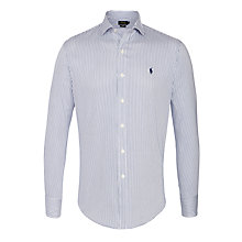 Buy Polo Ralph Lauren Pinstripe Slim Fit Shirt Online at johnlewis.com