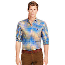 Buy Polo Ralph Lauren Button Down Shirt, Steel Blue Online at johnlewis.com