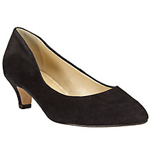 Buy John Lewis Amesbury Kitten Heel Suede Court Shoes Online at johnlewis.com