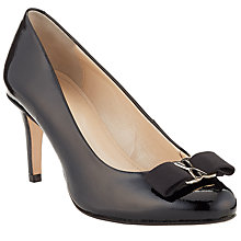 Buy John Lewis Made in England Amersham Bow Detail Closed Court Shoes Online at johnlewis.com