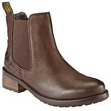 Buy Barbour Caveson Quilted Block Heel Ankle Boots Online at johnlewis.com