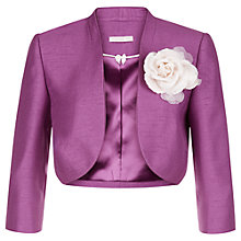 Buy Jacques Vert Detachable Trim Bolero Online at johnlewis.com