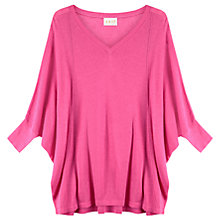 Buy East Oversized Linen-Blend Jumper Online at johnlewis.com