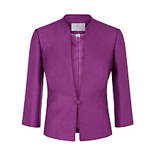 Buy Jacques Vert Petite Jacket, Bright Purple Online at johnlewis.com