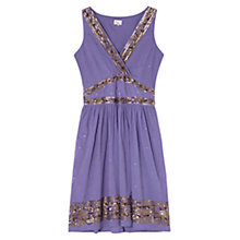 Buy East Sequin Shift Dress, Wisteria Online at johnlewis.com