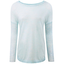 Buy Pure Collection Featherweight Cashmere Curved Hem Sweater Online at johnlewis.com