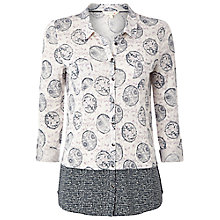 Buy White Stuff Lori Linen Shirt, Canvas White Online at johnlewis.com
