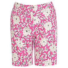 Buy Oasis Flower Print Shorts, Multi Online at johnlewis.com