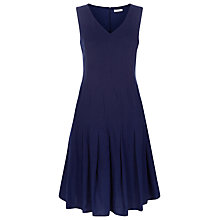 Buy Kaliko Linen-Blend Dress, Navy Online at johnlewis.com