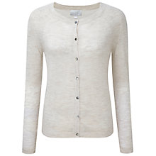 Buy Pure Collection Featherweight Cashmere Seam Detail Cardigan Online at johnlewis.com