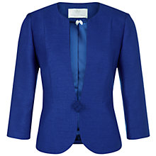 Buy Jacques Vert Petite One Button Jacket, Bright Blue Online at johnlewis.com