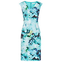 Buy Kaliko Floral Printed Shift Dress, Multi Green Online at johnlewis.com