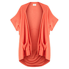 Buy East Pointelle Cardigan, Light Orange Online at johnlewis.com