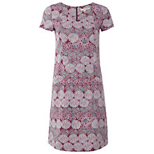 Buy White Stuff Rusheen Dress, Muted Cranberry Online at johnlewis.com
