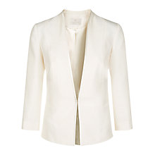 Buy Jacques Vert Bow Fastening Jacket, Light Neutral Online at johnlewis.com