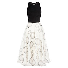 Buy Coast Kadence Spot Dress, Mono Online at johnlewis.com