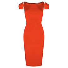 Buy Coast Darcia Bow Dress, Red Online at johnlewis.com