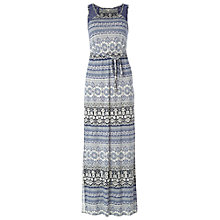 Buy White Stuff Ellie Maxi Dress, Thunder Blue Online at johnlewis.com