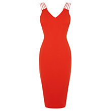 Buy Coast Malinka Dress, Red Online at johnlewis.com