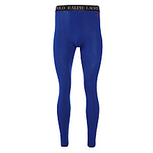 Buy Polo Ralph Lauren Cotton Long Johns, Sapphire Blue Online at johnlewis.com