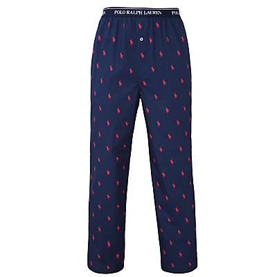 Polo Ralph Lauren Allover Pony Print Lounge Pants, Blue
