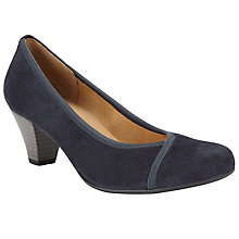 Buy Gabor Freda Court Shoes , Navy Online at johnlewis.com