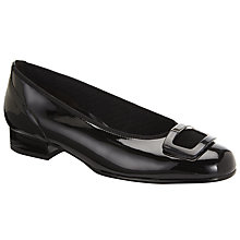 Buy Gabor Frenzy Wide Fit Block Heel Pumps Online at johnlewis.com